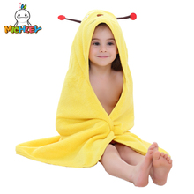 MICHLEY Children Bathrobe 2019 New Arrived Cotton Baby Boy Cute Shawl Elk Clothing Girls Colorful Animal Pajamas Child Towel WEC