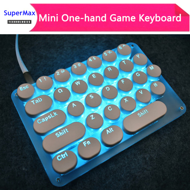 Single Hand One Hand Keyboard Setting Key Mini Mechanical Game