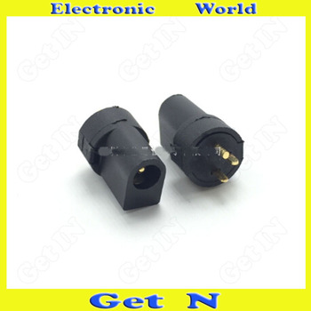 500pcsDC-097 Manufacturer Wholesale Direct Selling 3.5*1.3 Column-Shape Upright 3-Pin DC Power Connector DC Charging Socket