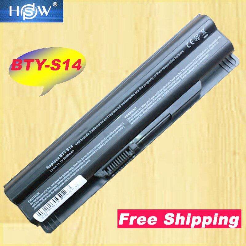 HSW 5200 mAh 11.1 v batteria Per MSI BTY-S14 BTY-S15 FR700 FX700 CR650 CX650 FX420