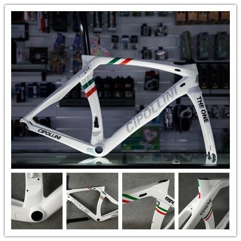 08dd0c81337 Cipollini RB1K THE ONE italian champion shiny frame White carbon road bike  frame Carbon bike frame