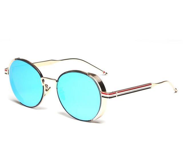 New thom Mens Classic small Round Sunglasses Womens Small Vintage Retro  Mirror John Lennon Sun Glass e35d6c821a