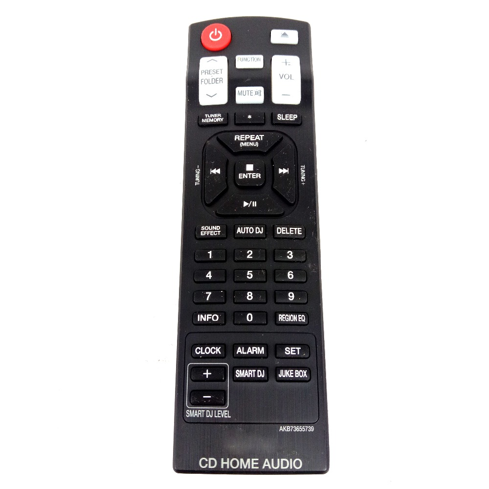 Original Remote Control For LG AKB73655739 CD Home Sound Bar Audio System CM9540 Fernbedienung