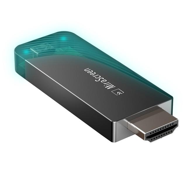 MiraScreen D7 テレビスティック 2.4 グラム + 5 グラム 1080 1080P HDMI Miracast エアプレイの Wifi ディスプレイレシーバドングルのサポート windows の Andriod IOS
