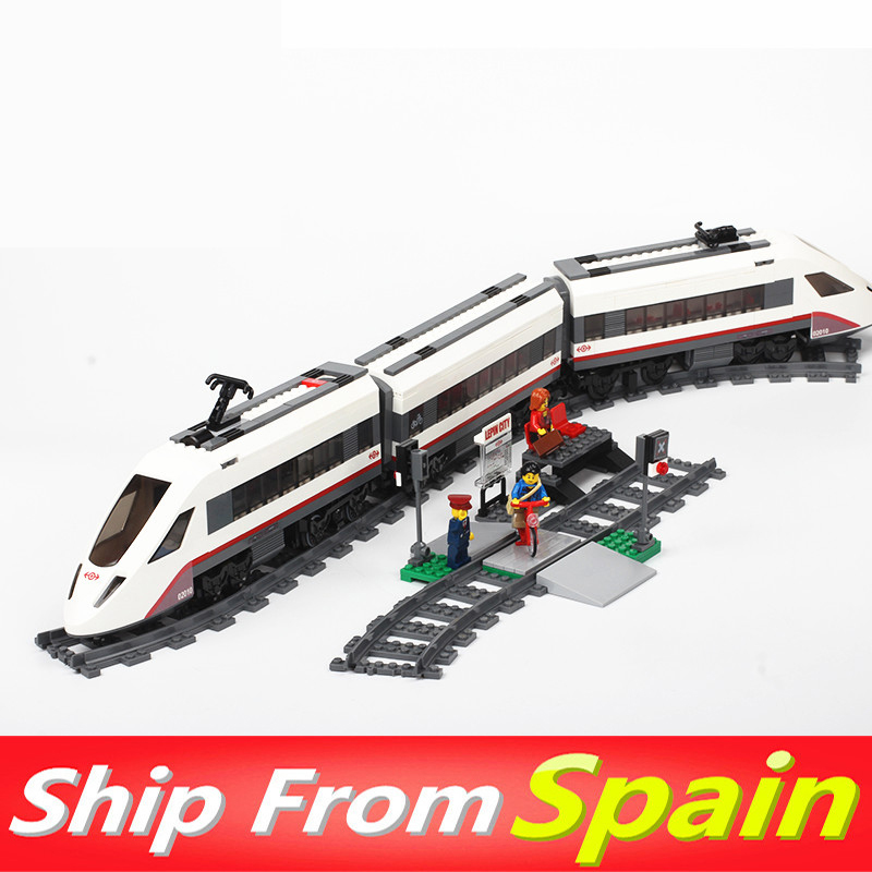 02010 02008 02009 02010 City Series Train with motor and remote control building blocks 60052 60051