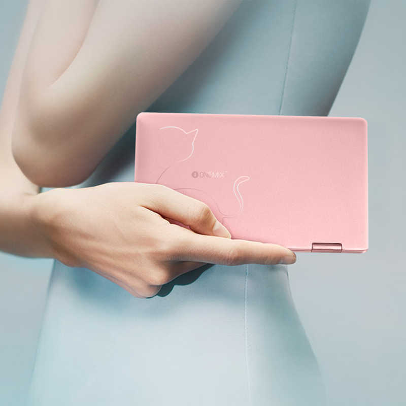 "Cutey rosa 7 ""ips touchscreen tablet pc 8th intel core M3-8100Y cpu reconhecimento de impressão digital bolso pc 8 gb ram 256 gb ssd bluetooth"