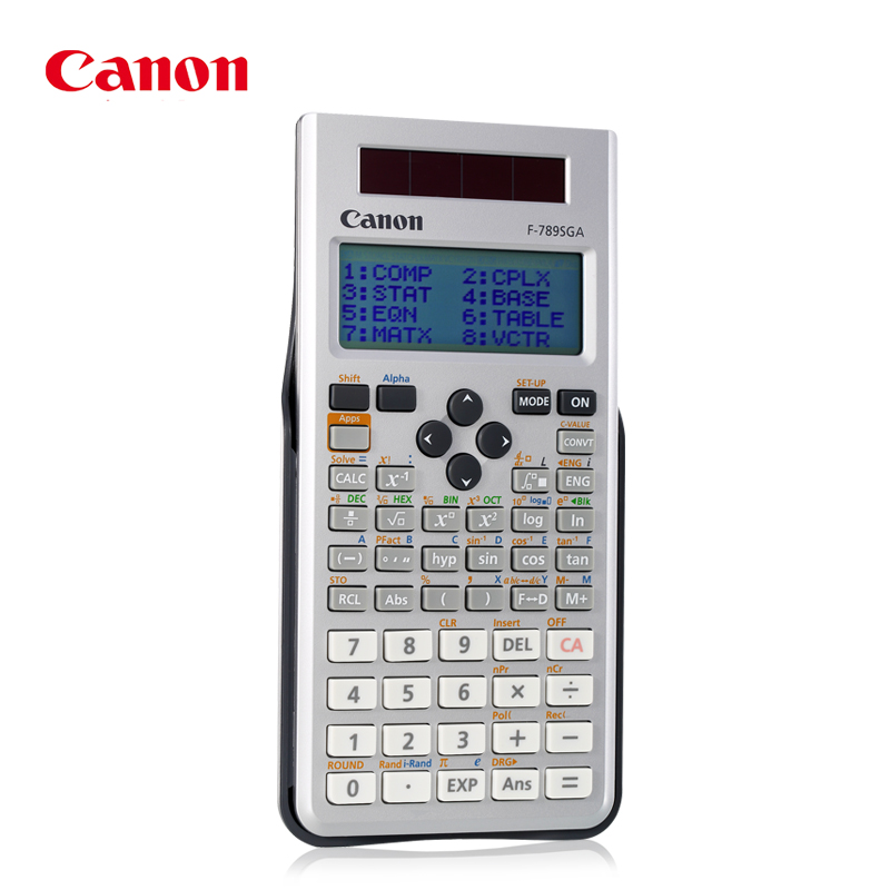 F-789SGA Student College Entrance Examination Science Function Calculator Solution of Equation Plural Matrix
