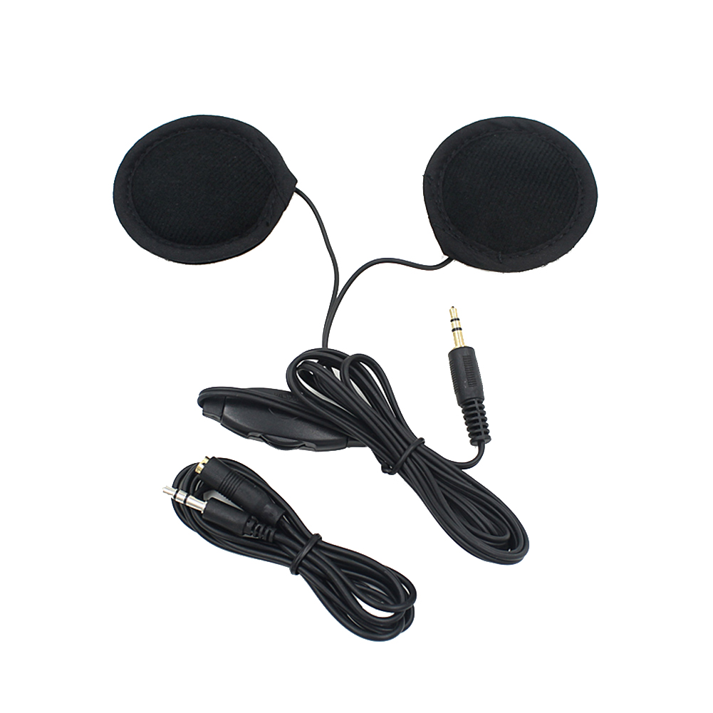 Motorcycle Helmet Headset Speakers Earphone Motorbike Moto Headphone For MP3/MP4/CD/Radio GPS Cellphone Mobilephone Phones
