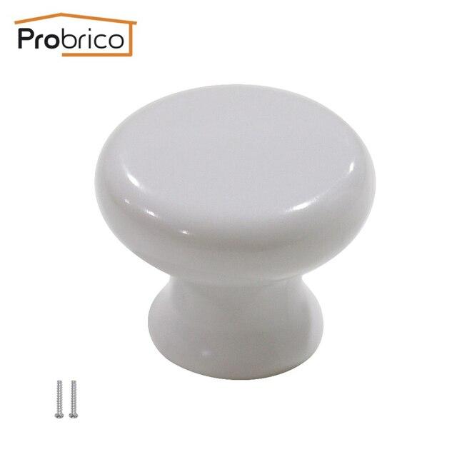 Probrico Kunststoff Küchenschrank Knopf Weiße Möbel Schublade Griff ...