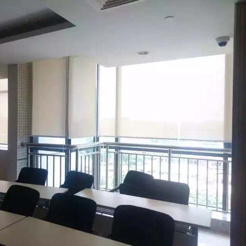 Remote control electric motorized roller shades big size for Motorized roller shades price