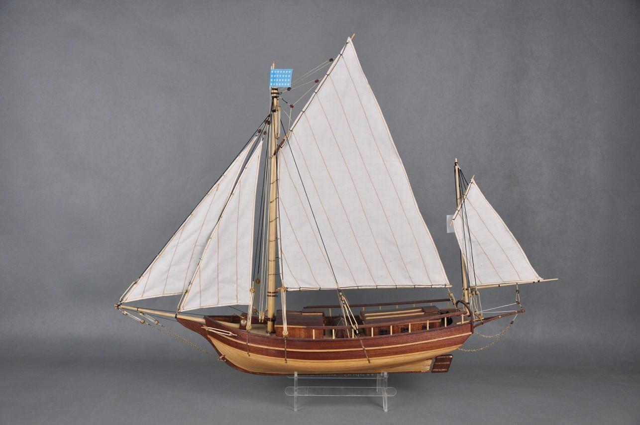 Model Boats Wooden Boston The Waves of The Wooden Sailing Ship Model Kit Hobby Diy Train Wooden Ship Models Kits Boston