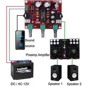 Image 2 - AC DC 12 V R1075 لهجة مجلس BBE الصوت الرقمي قبل مكبر للصوت المعالج المحرك Preamp مكبر للصوت F1 014
