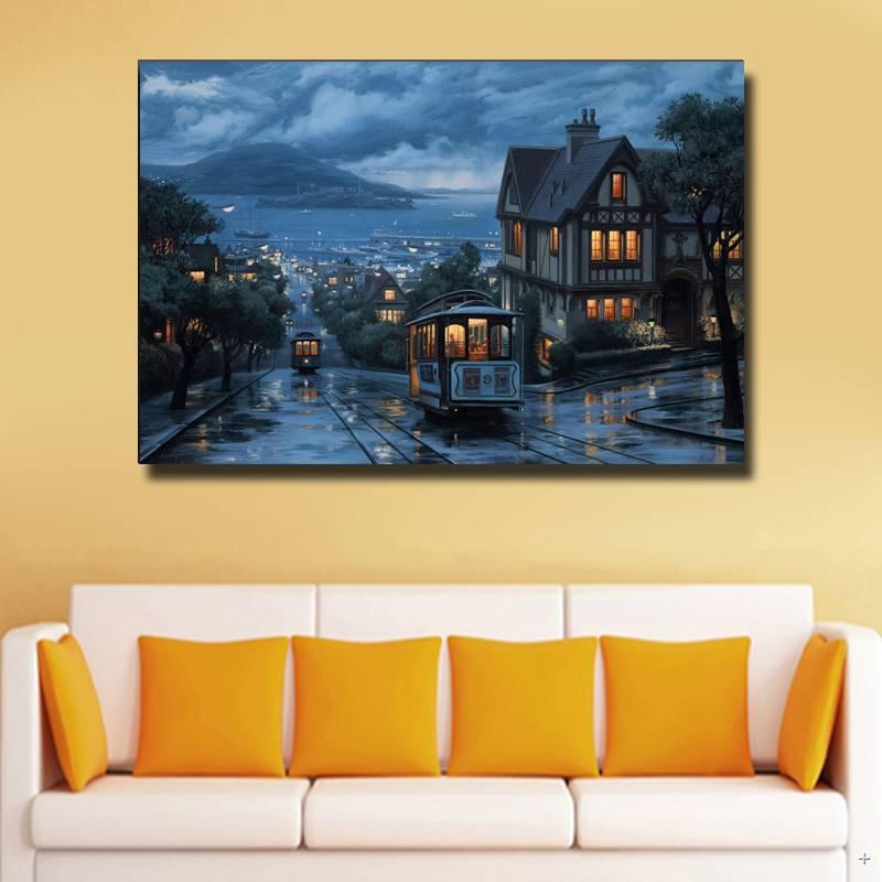 ღ Ƹ̵̡Ӝ̵̨̄Ʒ ღHd Print Hot Selling Oil Painting Abstract Wall Deco ...