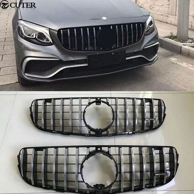 grille emblem grill front parts amg aftermarket brabus logo gts for benz car mercedes scuderia
