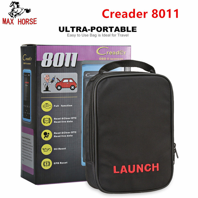 Flash Promo Launch Creader 8011 OBD2 Scanner Oil Service Reset EPB ABS SRS BMS Battery Match ODB2 Auto Car Diagnostic Tool Launch CR8011