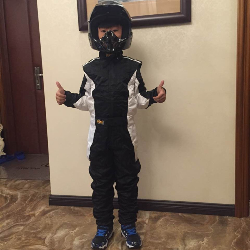 GPFORTYSIX Two Layer Waterproof Kids Karting Suit Car Children Motorcycle Racing Club Exercise Clothing Overalls Stig Suit Moto motorbike racing suit children combinaison course automobile kids chaqueta moto mujer baby car karting suit motorcycle suit car