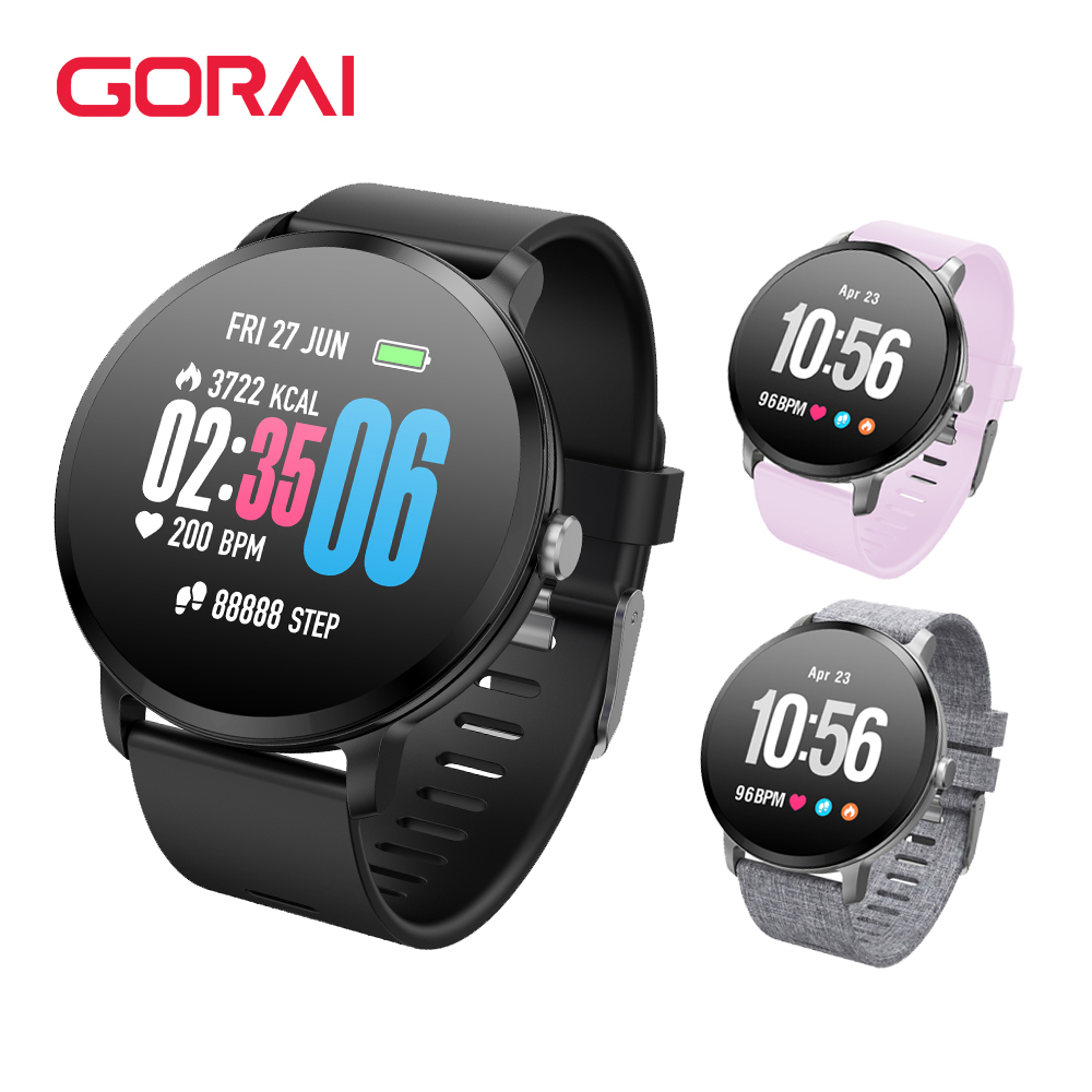 Goral V11 Smart watch IP67 waterproof Blood Pressure oxygen Heart rate monitor Fitness bracelet Activity tracker For Men WomenGoral V11 Smart watch IP67 waterproof Blood Pressure oxygen Heart rate monitor Fitness bracelet Activity tracker For Men Women