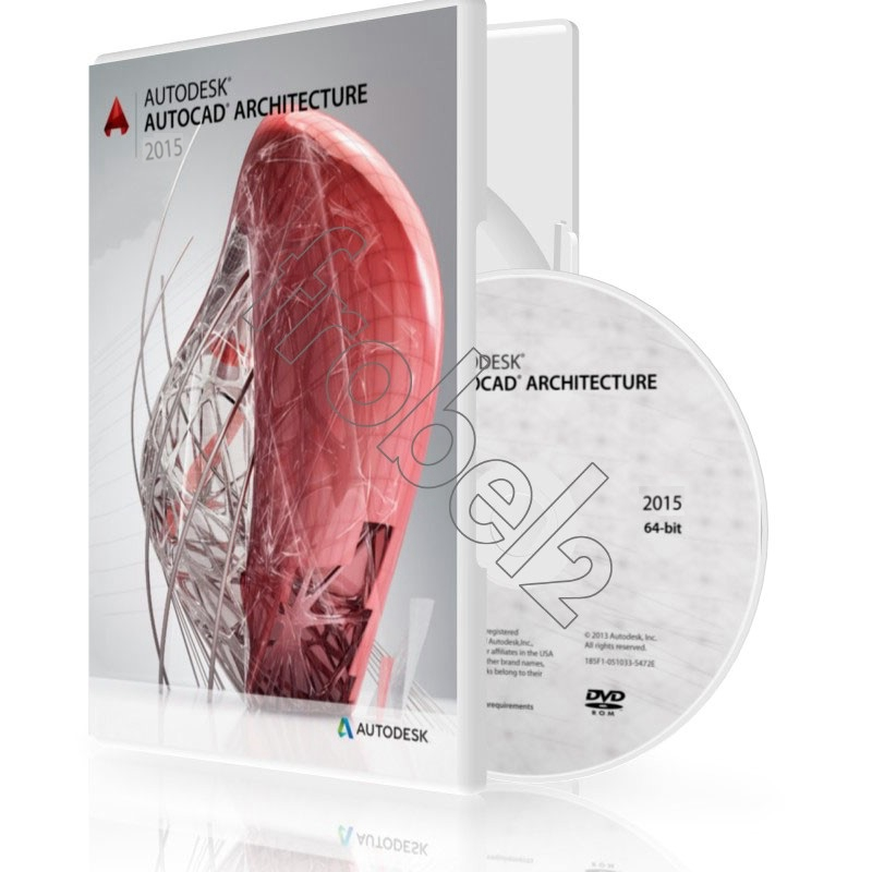 Autodesk AutoCAD Architecture software 2015/2014/2013