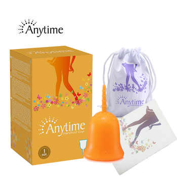 40 pcs Soft Wholesale Reusable Medical Grade Silicone Menstrual Cup Feminine Hygiene Product Lady Menstruation Copo AMC40RG - DISCOUNT ITEM  50% OFF All Category