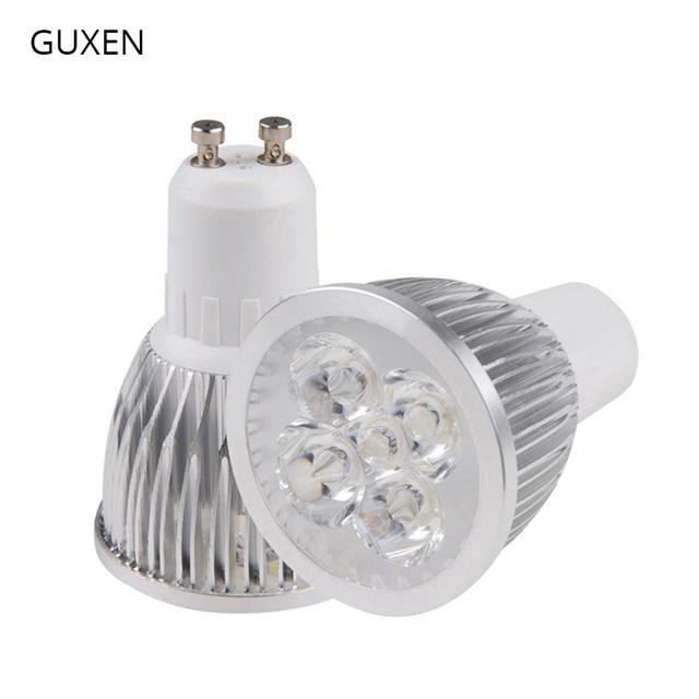 GUXEN GU10 Led מנורת הנורה ניתן לעמעום/ללא ניתן לעמעום 3W 4W 5W 6W 8W 9W 10W AC110V 240V Led זרקור לסלון