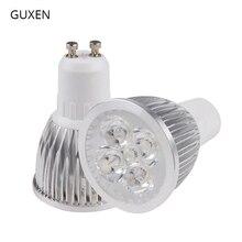 GUXEN GU10 bombilla Led para lámpara regulable/No regulable 3W 4W 5W 6W 8W 9W 10W AC110V 240V foco Led para sala de estar