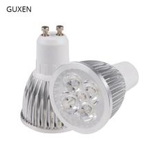 Guxen gu10 lâmpada led pode ser escurecido/não pode ser escurecido 3 w 4 w 5 w 6 8 9 w 10 w AC110V 240V led spotlight para sala de estar