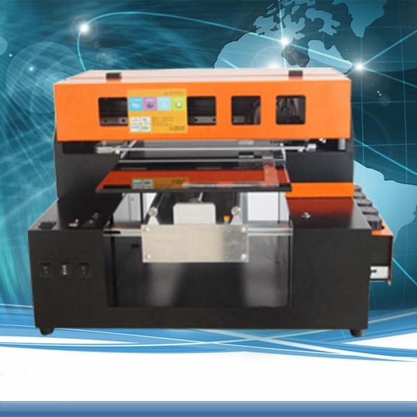 Smart A3 8 Couleur DX5/DX7 Tête led UV À Plat Imprimante imprimante de coque de téléphone Soutien Cylindre D'impression