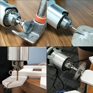 Image 5 - 30000 t/mn 480W perceuse électrique Mini graveur avec 6 vitesse Variable pour Dremel métallisation perceuse polissage 110V/220V