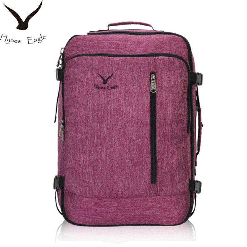 купить Hynes Eagle Brand Designer 38L Flight Approved Weekender Carry on Backpacks For Men Women Vintage Travel Backpacks Luggage Bag по цене 3670.51 рублей
