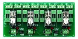 تنصهر 4 DPDT 5A الطاقة تتابع واجهة وحدة ، G2R-2 24 فولت DC التتابع.