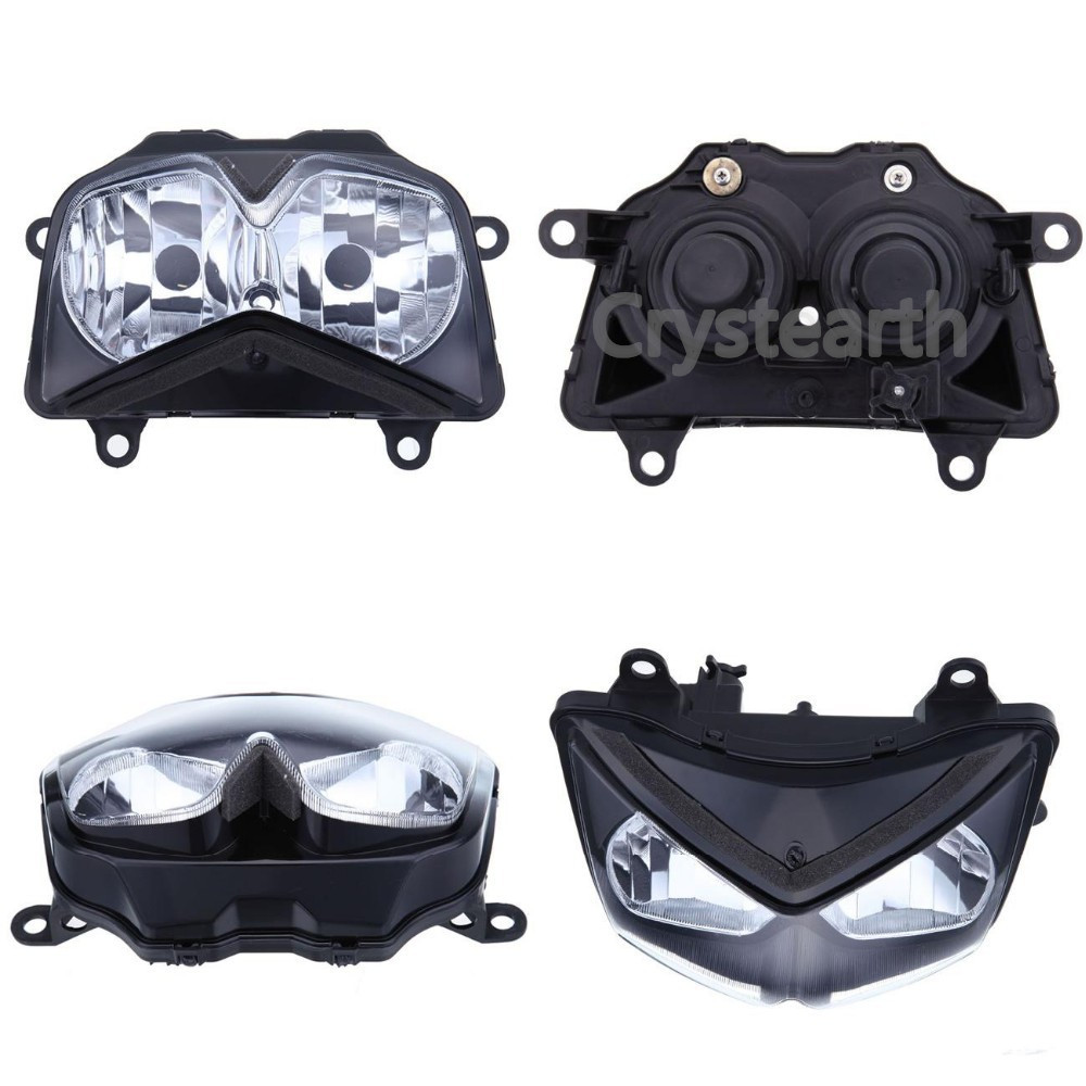 все цены на Motorcycle Front Headlight Head light Headlamp Assembly For Kawasaki Z750 2004 2005 2006 Z1000 2003-2006 Ninja 250R 08-11 09 10 онлайн