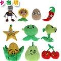1 шт. 10-18 см 8 Стили Растения против Зомби Плюшевые Игрушки Мягкие фаршированные Плюшевые Игрушки Куклы Детские Игрушки для Детей Подарки Партии игрушки