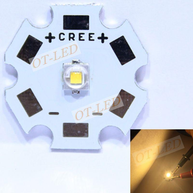 10pcs Cree XLamp XPE2 XP-E2 R3 Warm White 1W~3W 3000K s