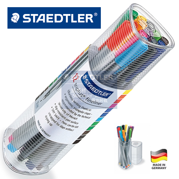 купить LifeMaster Staedtler Triplus Fineliner 334 PR12 12 multicolour Drawing Pen 0.3mm Art Set For Design онлайн