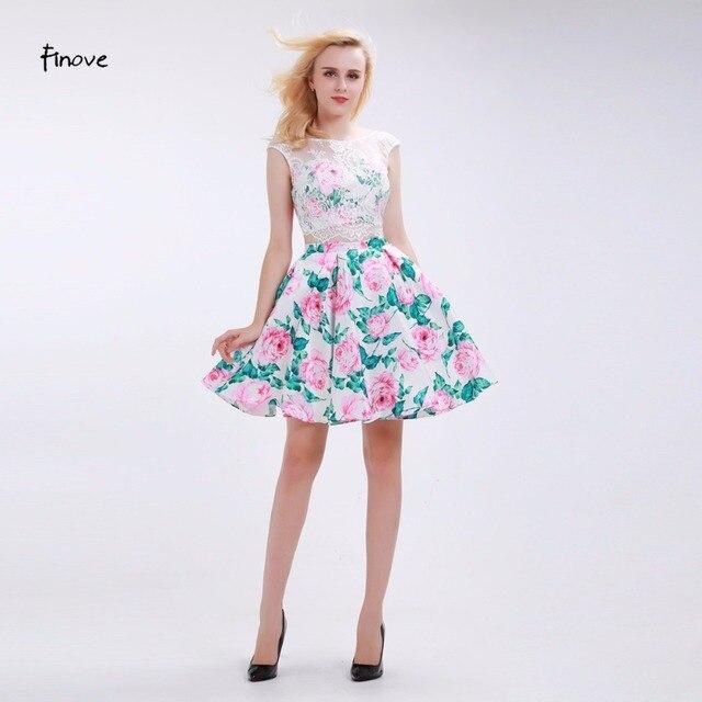 7c836af6e Finove flor vestidos de fiesta 2019 nuevo conjunto de dos piezas de encaje  rosa y verde