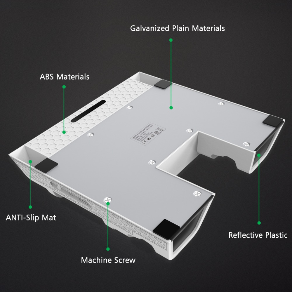 Cargador de controlador Dual OIVO para Xbox ONE soporte Vertical de refrigeración para juegos estación de carga de almacenamiento para consola Xbox ONE/S/X - 6
