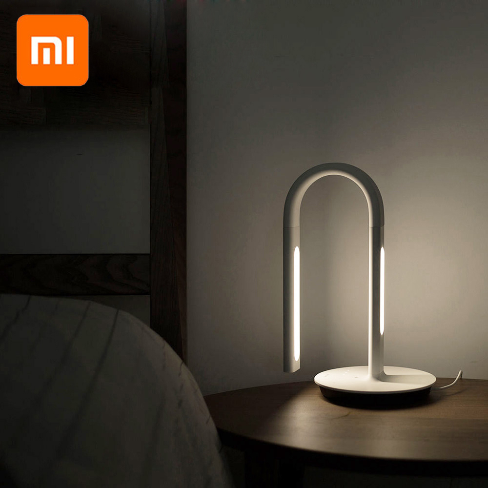 Xiaomi Mijia PHILIPS veilleuse Eyecare lampe de Table intelligente App contrôle intelligent lumière 4 scènes d'éclairage xiaomi lumière de bureau