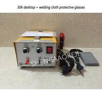 Точечный сварщик лазерный сварщик ювелирные изделия сварочный аппарат паяльник импульса высокой мощности ручная точечная сварка 300 Вт/400 В