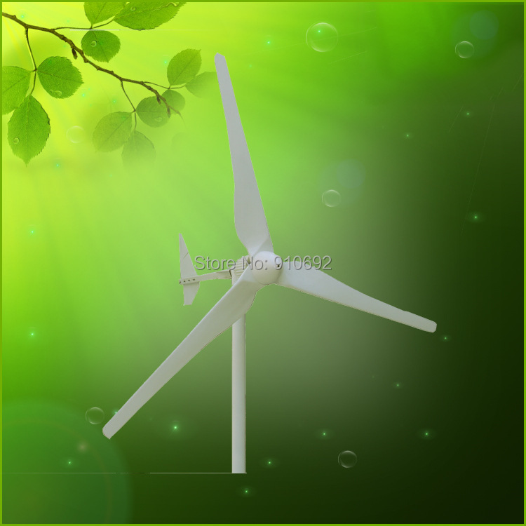 wind power generator for off grid wind solar hybrid systems 2kw 96v