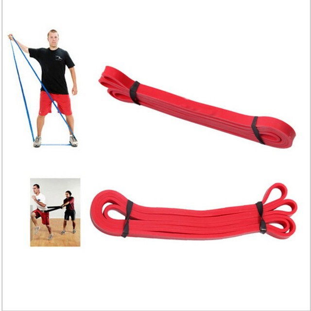 Latex Resistance Bands High Strength Fitness Body Build Power Training Powerlifting Yoga Pull Up Rope