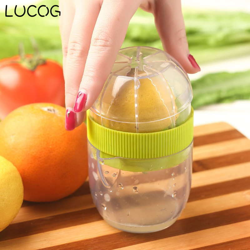 LUCOG Premium Quality Lemon Lime Squeezer Eco Friendly Material Manual Citrus Press Juicer Mini Juice Tool premium quality lemon lime squeezer eco friendly material manual citrus press juicer mini juice tool