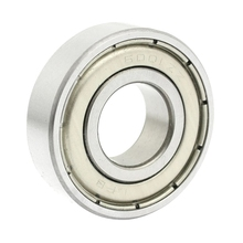 6001ZZ Double Shielded Deep Groove Ball Bearings 28mm x 12mm x 8mm Features metal material, double shielded, to protect the bear