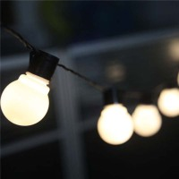 Novelty Outdoor Lighting 5cm Navidad LED Ball String Lamps Warm White Wire Christmas Lights Fairy Wedding