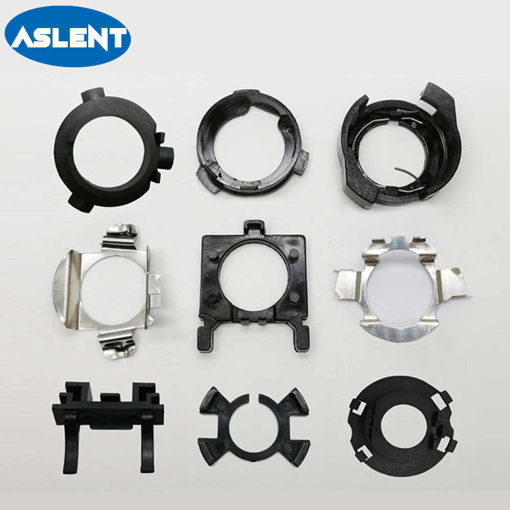 Aslent H7/H1 for LED Headlight Bulbs Mounting Adapter Holders H1 H7 Lamp Install Adapter Base for BMW/Hyundai/Benz/Buick/Nissan