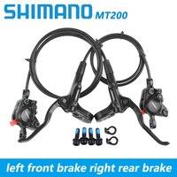 Shimano BR BL MT200 800*1550mm Brake bicycle bike mtb Hydraulic Disc brake set clamp mountain bike Brake Update from M315 Brake