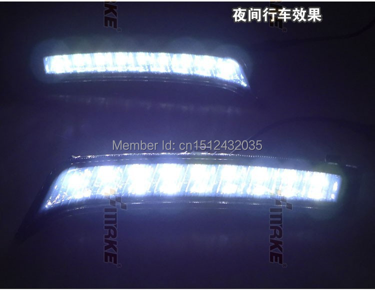 Free shipping , for Forester 2013 led drl daytime running light black version with dimmer function 9 top chips top quality for forester 2013 2016 guiding light