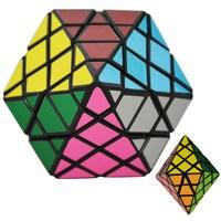 DianSheng Octagonal Pyramid Dipyramid 4x4 Shape Mode Magic Cube Puzzle Toys For Kids