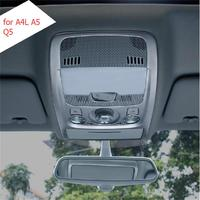 1 PCS DIY Car Styling NEW Stainless Steel Readlight Decorative Light Box Cover Case For AUDI