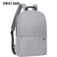 TINYAT Men Male Laptop Backpack For 15 6inch Notebook Women Casual Canvas School Backpack Travel Knapsack