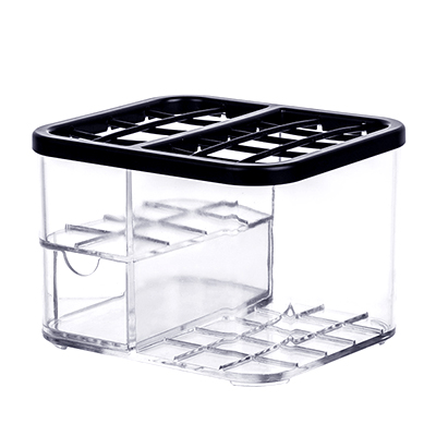 050 Fashion Tabletop superimposing transparent cosmetics receiving boxes Cosmetic packing box in Makeup Organizers from Home Garden